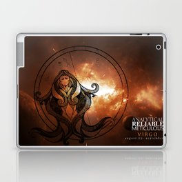 Virgo-Analytical, Reliable, Meticulous Laptop & iPad Skin