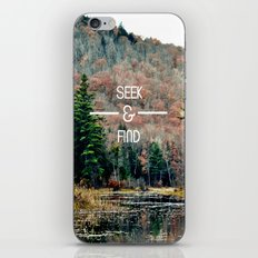 Seek & Find  iPhone & iPod Skin