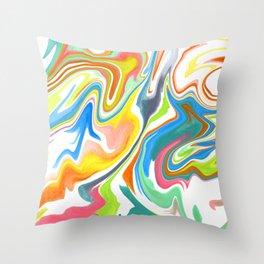 Marbleized Throw Pillow