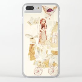 Harmonie-Transport Clear iPhone Case