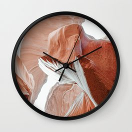 ANTELOPE CANYON XXIV Wall Clock