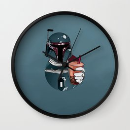 Boba Tea Wall Clock