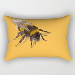 Bee fuzz Rectangular Pillow