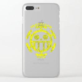 one piece Trafalgar Law Clear iPhone Case