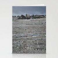 palestine Stationery Cards featuring Jerusalem Palestine by Sanchez Grande