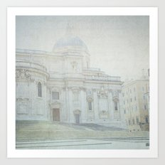 Letters From Roma - Rome Art Print