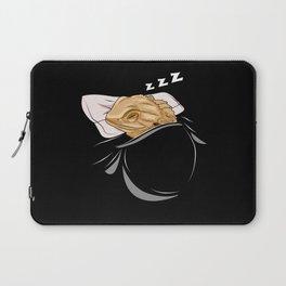Bearded Dragon Sleeping Animal Nap Napping Slumber Laptop Sleeve