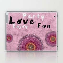 New Retro Pink 1 Laptop & iPad Skin