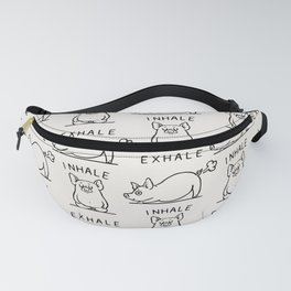 Inhale Exhale Pig Fanny Pack