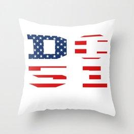 Washington DC Statehood No Taxation Without Representation  Throw Pillow
