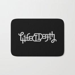 Life/Death Bath Mat
