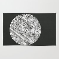 techno Area & Throw Rugs featuring Techno Morning. by RJ Creative