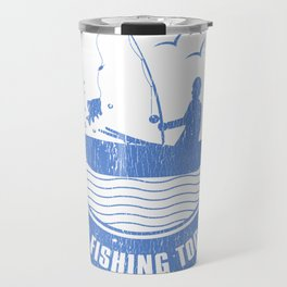 If You Can Read This Your Fishing To Close Travel Mug