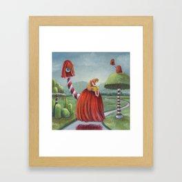 Mystic Voyage Framed Art Print