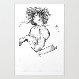 Egon Girl Art Print