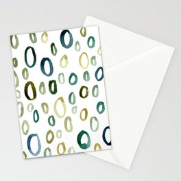 Painted O Stationery Cards
