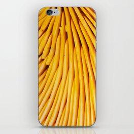 Yellow Gills iPhone Skin
