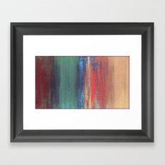 Untitled Digital Abstract Framed Art Print
