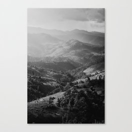 Mountain in Thailand  Canvas Print