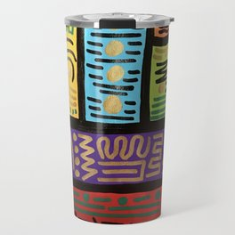 Abstract acrylic Travel Mug