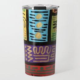 Abstract acrylic Travel Mug