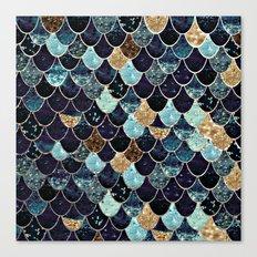 REALLY MERMAID - MYSTIC BLUE Canvas Print