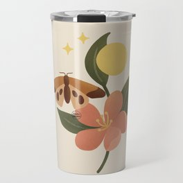 Alissa - Flower, butterfly and energy Travel Mug