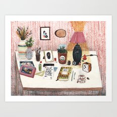 Still Life II  - Desk Art Print