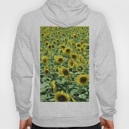 Sunflowers all day, everywhere, all around by Jéanpaul Ferro Hoody