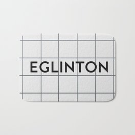 EGLINTON | Subway Station Bath Mat