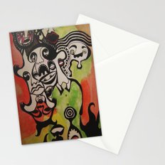 the joke isn't funny anymore Stationery Cards