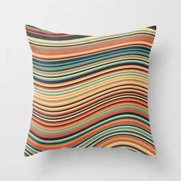 Calm Summer Sea Throw Pillow