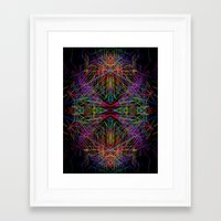transformer Framed Art Prints featuring Transformer by luminarist