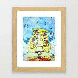 My Girl Angie Framed Art Print