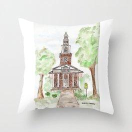 Memorial Hall, Lexington, Kentucky, UK Throw Pillow