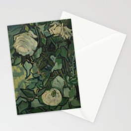 "Vincent Van Gogh ""Roses"" Stationery Cards"