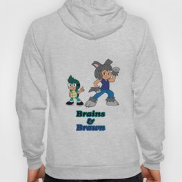 Shiro and Mike-Brains and Brawn Hoody