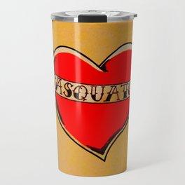 My Heart Belongs to Sasquatch Travel Mug