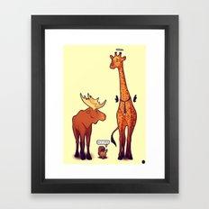 Supernatural Animals Framed Art Print