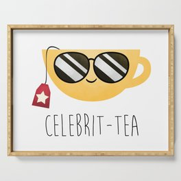 Celebrit-tea Serving Tray