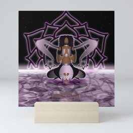 Inner Light: Crown Chakra (UPDATED) Mini Art Print