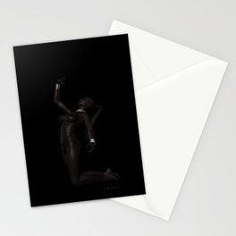 Tribal Nude Female Stationery Cards