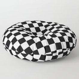 Checkered Flag Floor Pillow