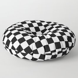 Checkered Flag Floor Pillow