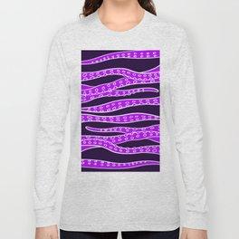 Purple Tentacles Long Sleeve T-shirt