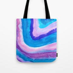 AGATE Inspired Watercolor Abstract 11 Tote Bag