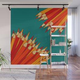 Dueling Pencils 2 Wall Mural