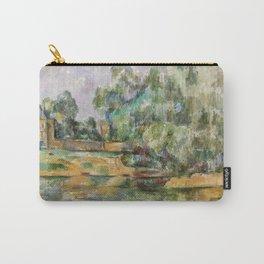 Paul Cézanne Riverbank Carry-All Pouch