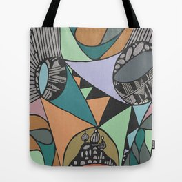 Three Districts Tote Bag