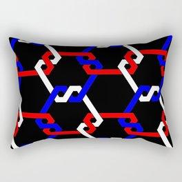 All-American Freeman Lattice Rectangular Pillow